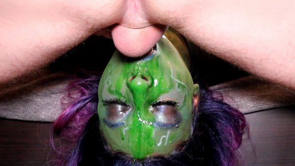 Tiptobase69 – Gamora Gags on Quills Cock