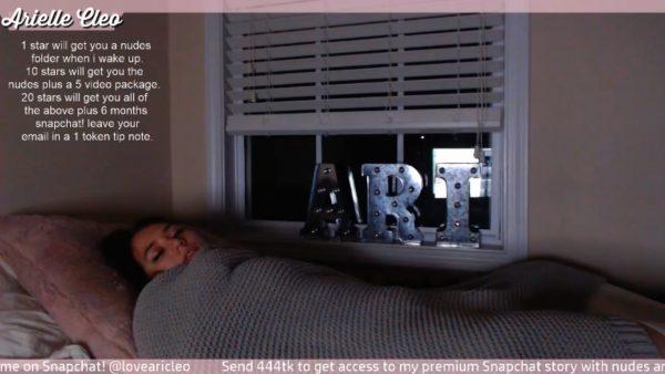 Ari Cleo – Aris Live Nap Voyeur Cam