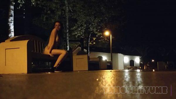 Boba Bitch – CAUGHT fingering in public playground