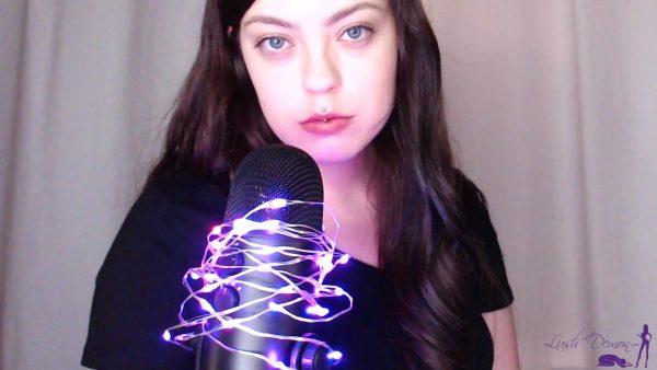 Demon Goddess J – Lip Gloss ASMR with Light Humiliation