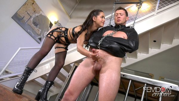 Femdom Empire – Alina Lopez – Earning his Orgasm