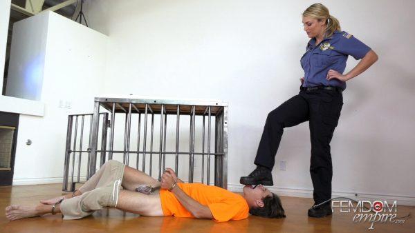 Femdom Empire – Officer Jane – Officer Janes Doormat