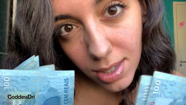 Goddess Dri – Jerk Off to My Money