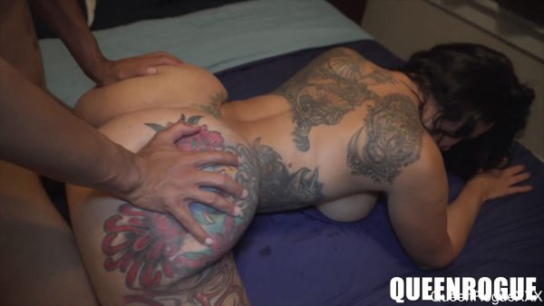 Queen Rogue XXX – My Stepson Came To Visit