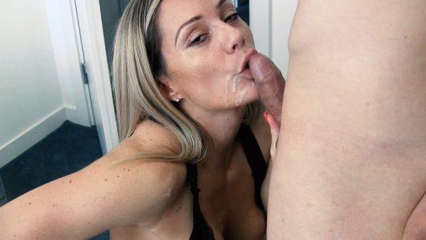 Princess SpunkMuffin – Nice Long Cock Suck and Mouthful of Cum