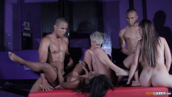 CumLouder – Amaranta Hank & Ashley Grey & Boni Lulo – Kinky After Party