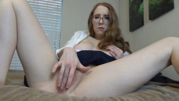 Charlotte Hazey – Closeup School Girl Wetness and Orgasms