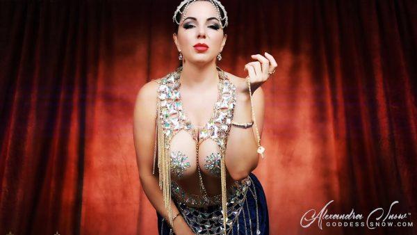 Goddess Alexandra Snow – The Devious Djinn