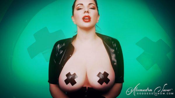 Goddess Alexandra Snow – Tit Transfixation