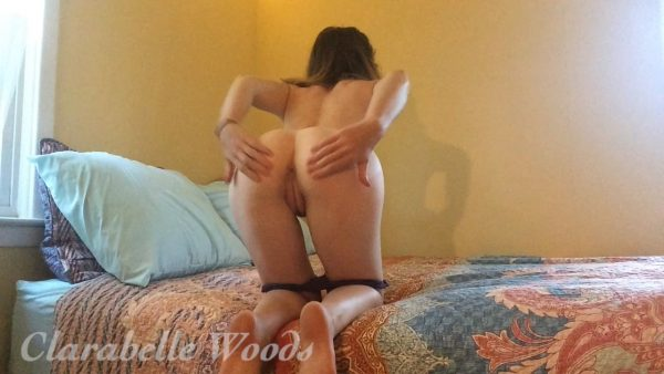 Clarabelle Woods – Sheer Panties & Sundress Masturbation