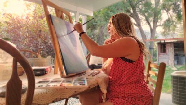 Lush Botanist – Topless Painting