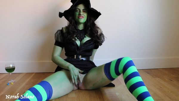 Norah Solano – Wicked Witchs Eternal Ballbusting Curse