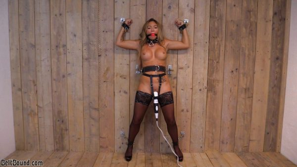 BeltBound – Natalia Forrest – Wall orgasms for Natalia Forrest