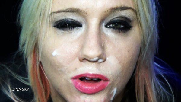 Dina Sky – Seductive Face JOI