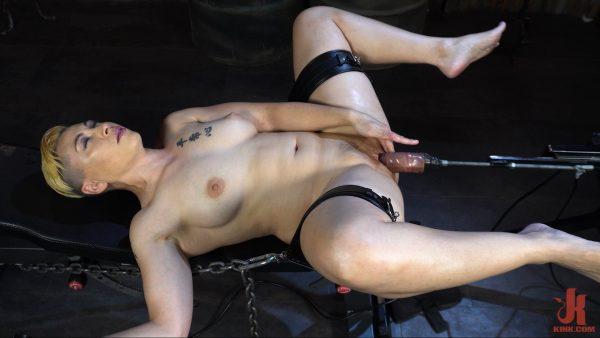 KinkyBites – Fox Acecaria Bondage Slut Vs Fucking Machine