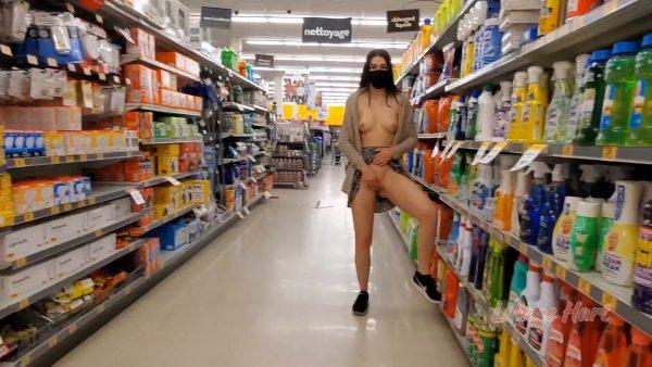 Liliane Hart – Shopping Masturbation Part 2
